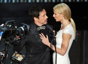 Robert Downey Jr és Gwyneth Paltrow