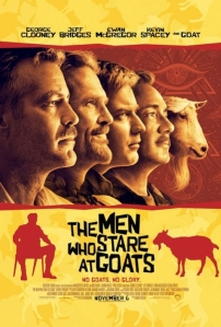 The Men Who Stare at Goats plakát