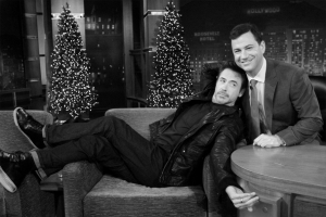 Robert Downey Jr. & Jimmy Kimmel